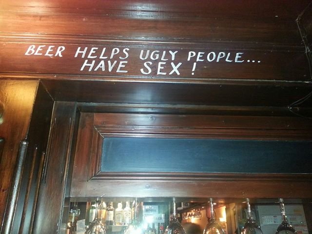 sign in the george