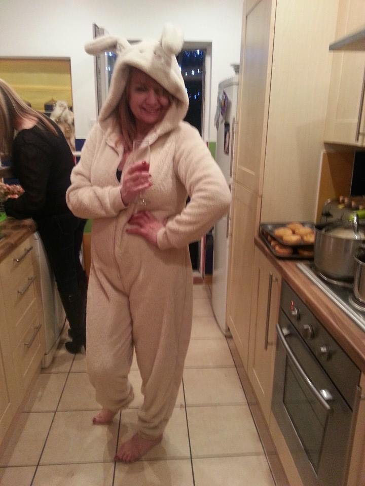 the rabbit onsie